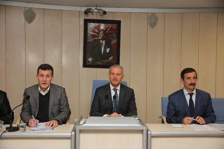 Adapazarı Belediyesi Ocak Ayı Meclis Toplantısı Yapıldı