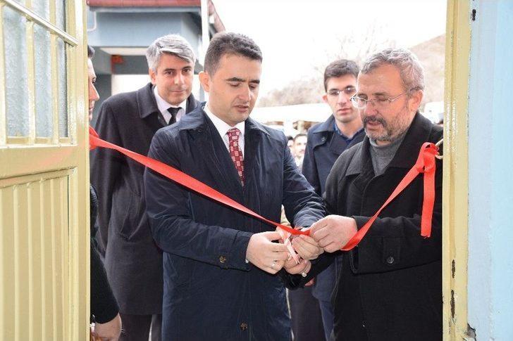 Pınarhisar Ortaokulunda Kütüphane Açılışı Yapıldı