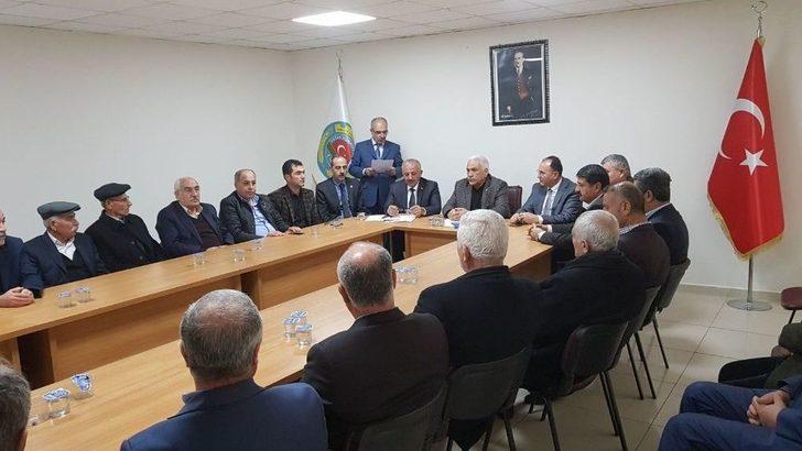 Adıyaman Ziraat Odaları İl Koordinasyon Kurulu Toplandı