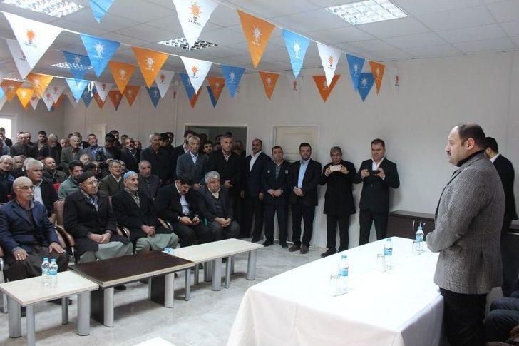 Şanlıurfa Milletvekili Kasım Gülpınar Samsatlı Vatandaşlarla Buluştu