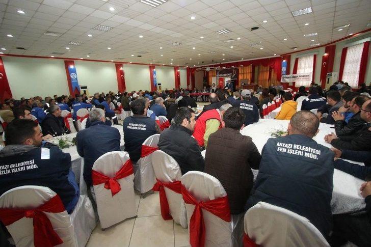 Akyazı Belediyesi İşçi Toplantısı Gerçekleştirildi