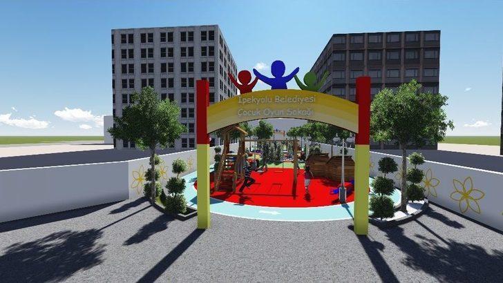 İpekyolu Belediyesinden 'oyun Sokağı' Projesi