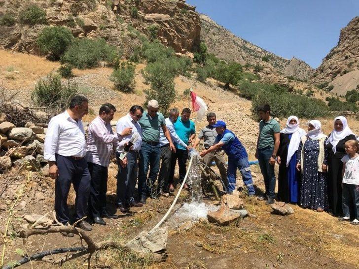 Taşbucak'ta 100 Yıl Sonra Gelen Su Sevinci