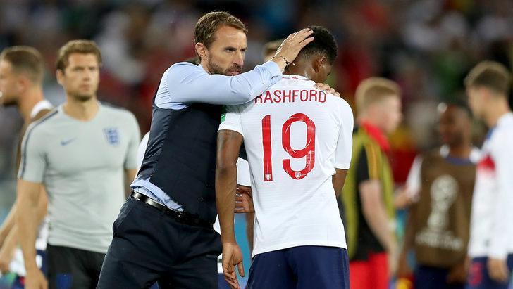 Gareth Southgate'ten Marcus Rashford'a övgü
