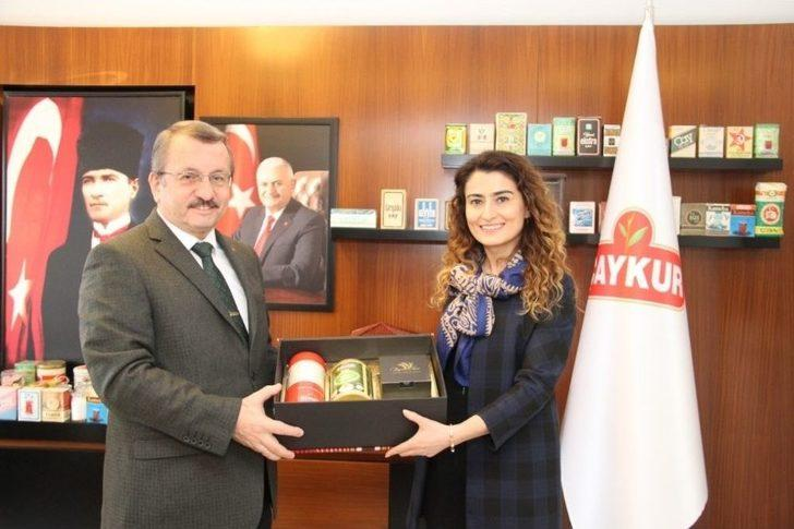 Batum Başkonsolosu'ndan Çaykur 'a Ziyaret