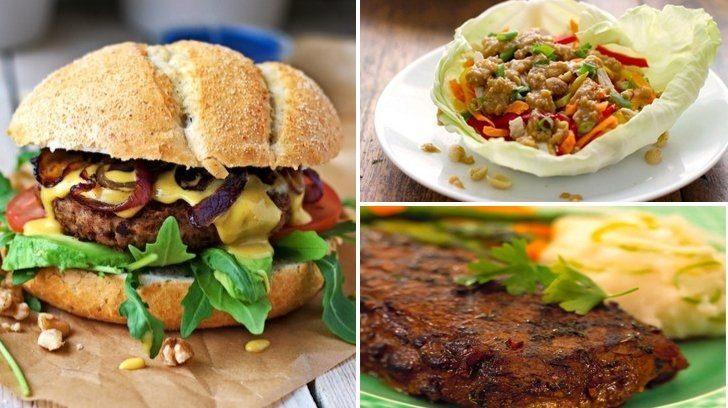 30 dakikada öğle yemeği: seçenekler ve fikirler