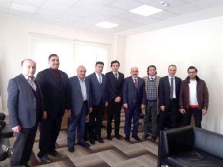 Erzurum Kent Konseyi'nden Erzurumspor Yönetimine Hayırlı Olsun Ziyareti