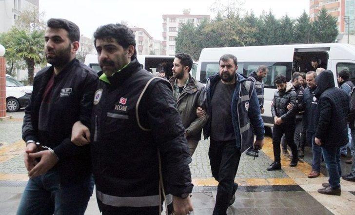 Giresun'da Fetö Mensubu 24 Asker Adliyeye Çıkartıldı