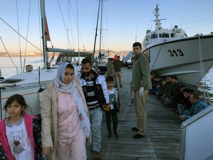 Bodrum Ve Marmaris'te 113 Göçmen Yakalandı