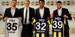 Fenerbahçe'de Yassine Benzia, Jailson ve Harun Tekin için imza töreni