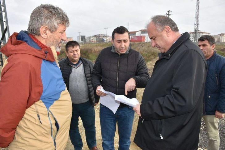 Genel Müdür Başa Teski'nin Ergene Ve Çerkezköy Yatırımlarını İnceledi