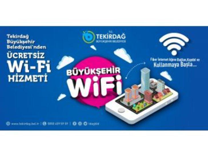 Parklarında Ücretsiz Wi-fi Hizmeti