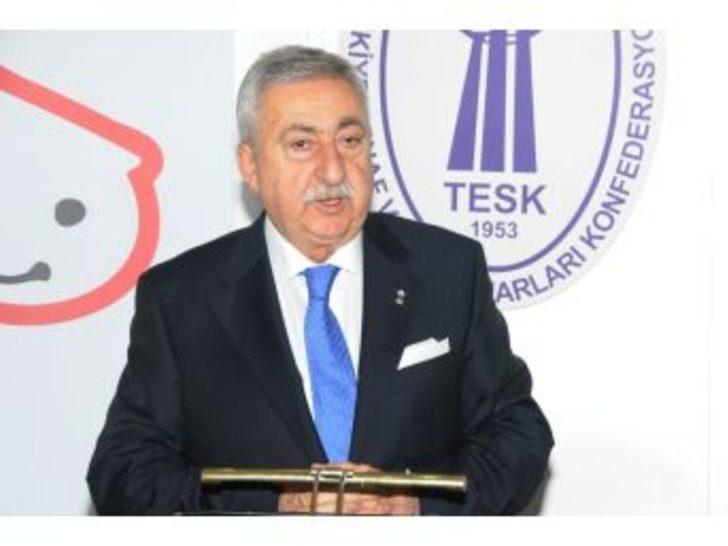Tesk Genel Başkanı Bendevi Palandöken: