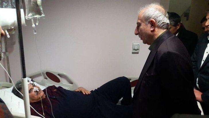 Milletvekili Miroğlu'ndan Hasta Ziyareti