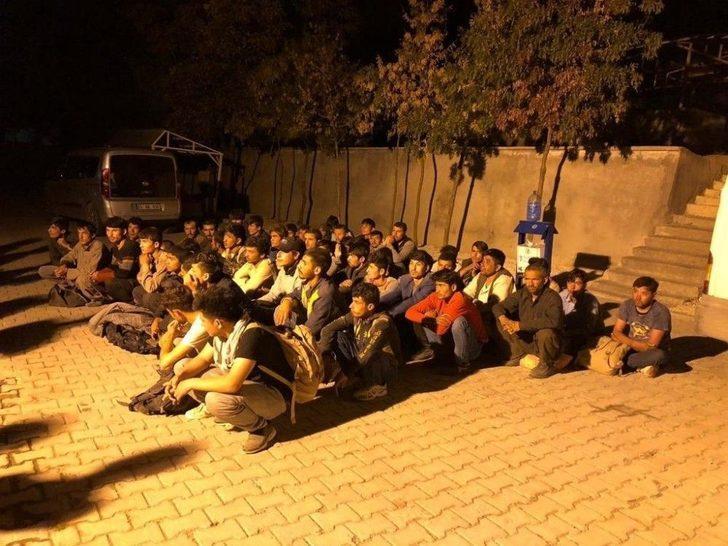 Van'da 52 Kaçak Göçmen Yakalandı