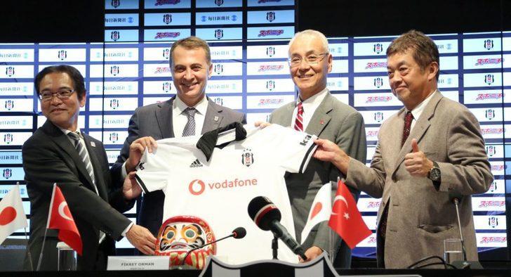 Beşiktaş Mainichi - Sponichi Group ile sponsorluk anlaşması imzaladı