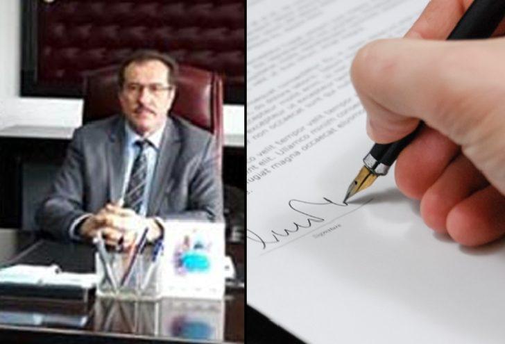 İçişleri Bakanlığı'na sahte mektup gönderen müftü görevinden uzaklaştırıldı!