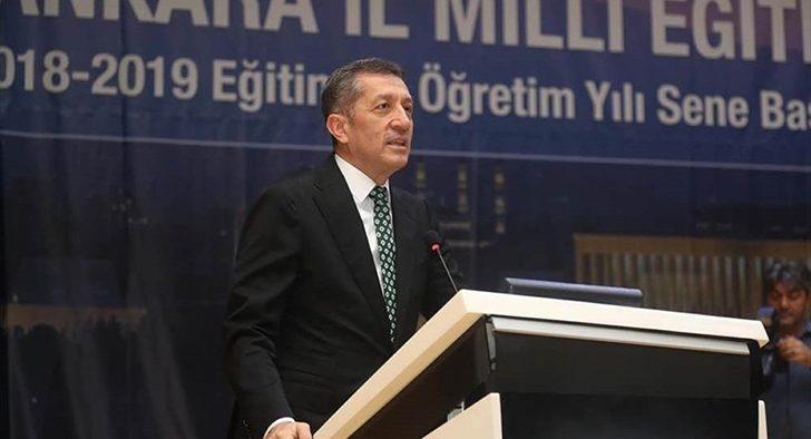 Milli Eğitim Bakanı Ziya Selçuk'tan dikkat çeken sözler