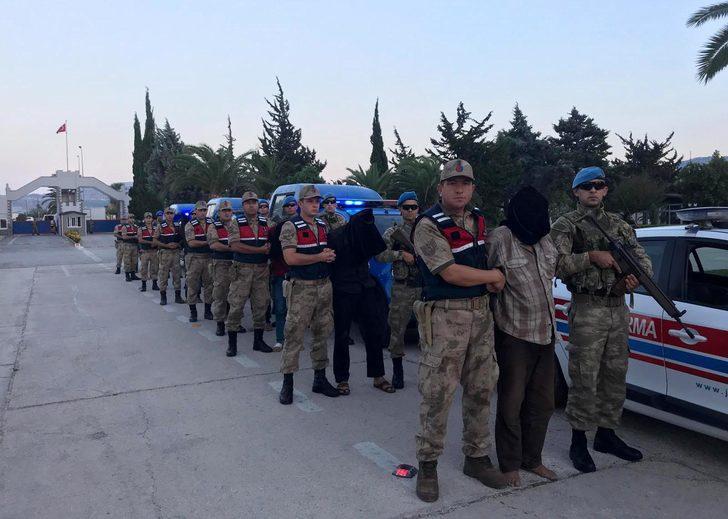 Zeytin Dalı Harekatı'nda 2 askeri şehit eden 9 terörist yakalandı (2)- Yeniden