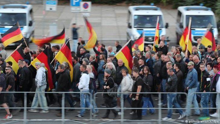 Chemnitz'te yabancı düşmanı gruba tutuklama