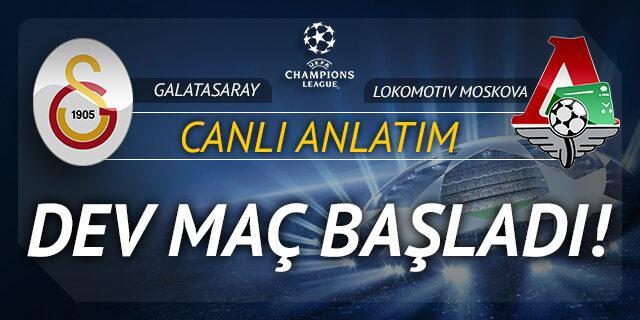 Galatasaray - Lokomotiv Moskova (CANLI ANLATIM)