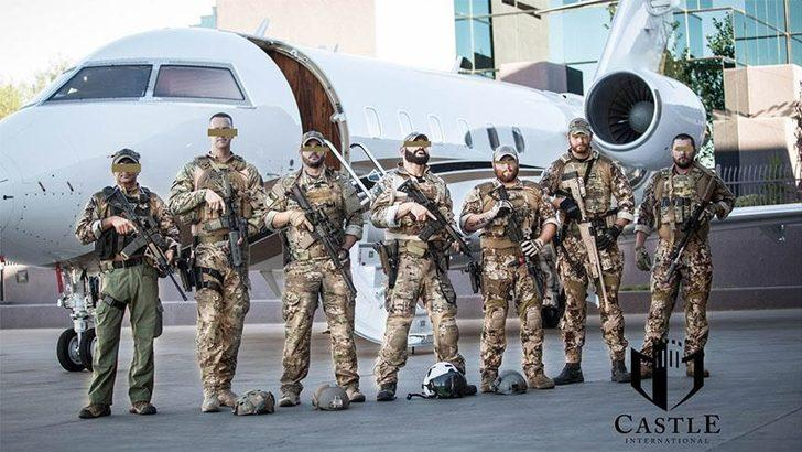 ABD'li 'özel güvenlik şirketinden' YPG/PKK'ya destek! Fotoğraflarla referans gösterdiler!