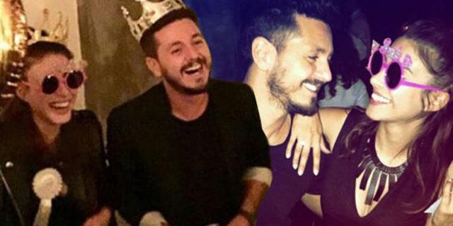Oyuncu Deniz Baysal'a sevgilisi Barış Yurtçu'dan sürpriz evlilik teklifi