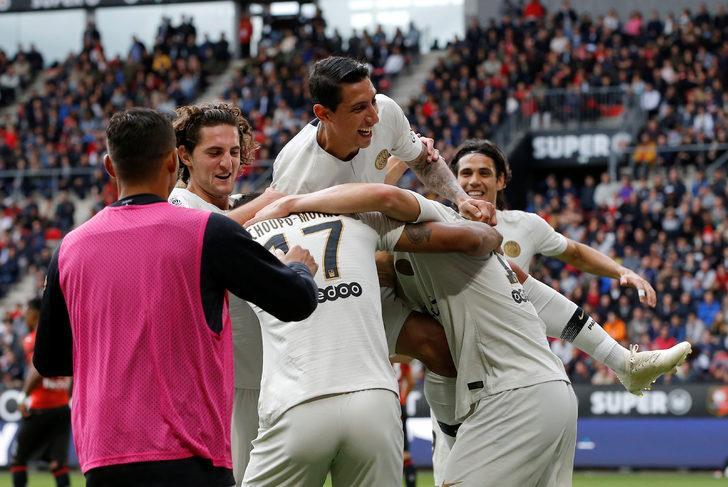 Ligue 1 | Rennes 1 - 3 PSG (Maç özeti)