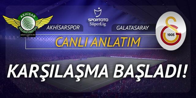 Akhisarspor - Galatasaray (CANLI ANLATIM)