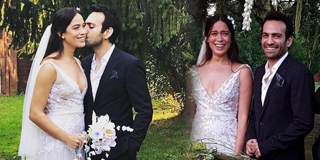 Buğra Gülsoy ve Nilüfer Gürbüz evlendi