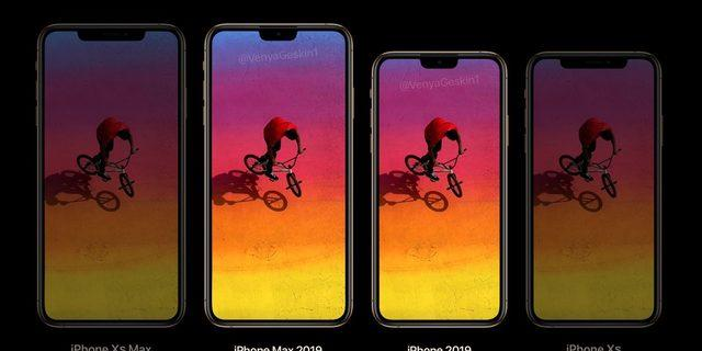 2019 model iPhone'lar küçük çentik ile gelecek!
