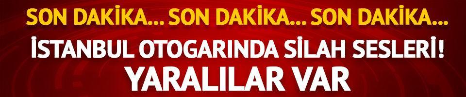 İstanbul otogarında silah sesleri!