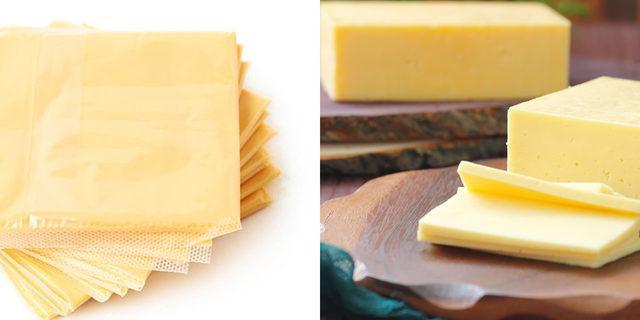 Tost peyniri ile kaşar peyniri arasındaki farkı biliyor musunuz?