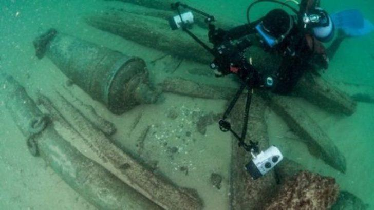 Portekiz kıyılarında 400 yıllık gemi enkazı bulundu