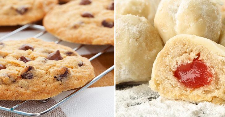 Her bir ısırıkta mutluluk var! Mynet Yemek'in birbirinden enfes 10 kurabiye tarifi