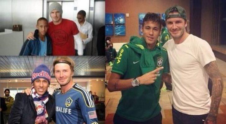 Neymar: Küçükken David Beckham hayranıydım.. Büyüdüm ve şimdi bakıyorum da hiçbir şey değişmemiş.