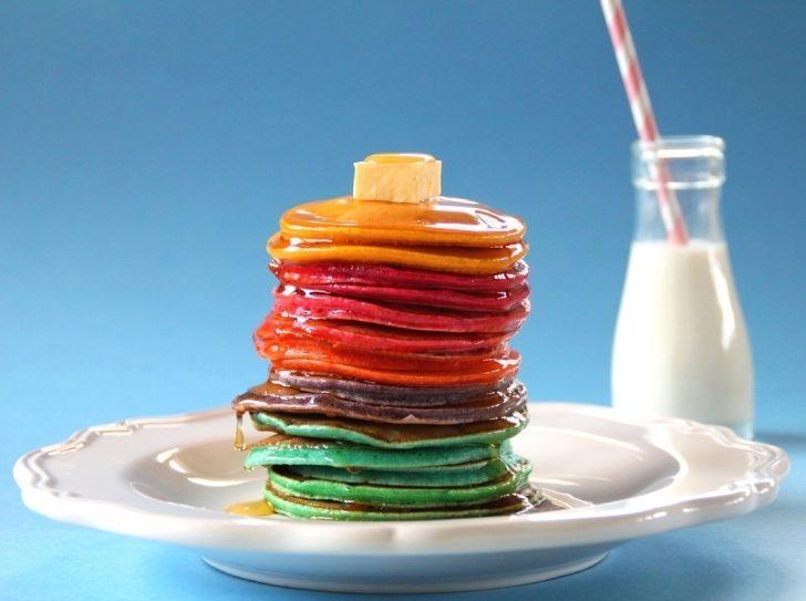 Gökkuşağı Pancake