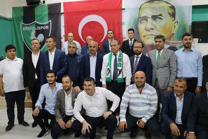 Muhammed Üstek, 20 yaşında Denizlispor'a yönetici oldu!