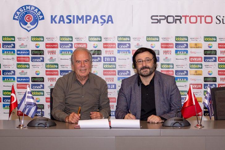 Kasımpaşa, Mustafa Denizli ile sezon sonuna kadar sözleşme imzaladı!
