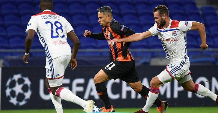 Grubun diğer maçında ise Lyon 2-0 geriye düştüğü maçta Shakhtar Donetsk ile 2-2 berabere kaldı.