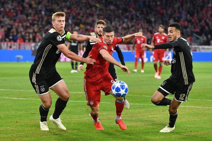 E Grubu'nda Bayern Münih sahasında Ajax ile 1-1 berabere kaldı.