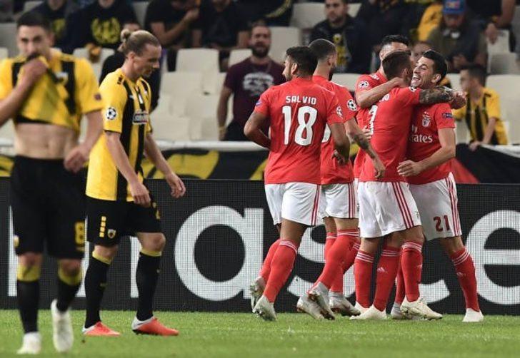 Grubun diğer maçında ise Benfica deplasmanda AEK'yı 3-2 yendi.