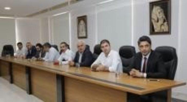 Kızıltepe'de Proje Ofisi Toplantısı gerçekleştirildi