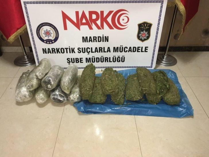 Mardin polisi uyuşturucu tacirlerine göz açtırmıyor