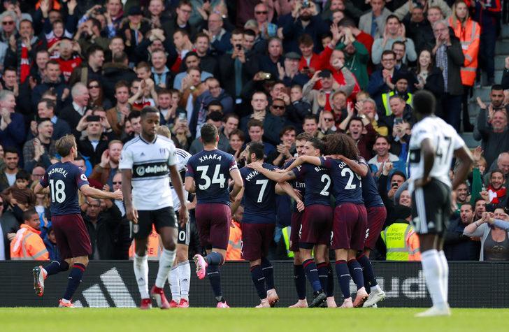 Fulham 1 - 5 Arsenal (Premier Lig)