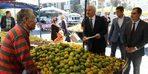 Başkan Gül'den pazar denetimi