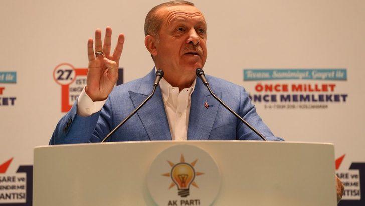 Erdoğan: Ekonomik göstergelerimiz diğer ülkelerden iyi, CHP ilkel ve gerici