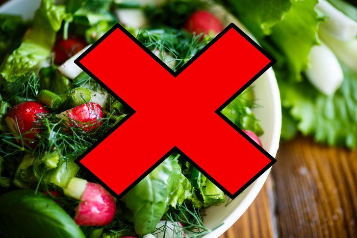 Bu hatalardan kaçının! Sağlıklı salata yapmanın 7 yolu