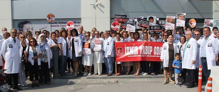 """100'ün üzerinde doktordan ortak tepki: """"Sağlıkta şiddeti durdurun"""""""