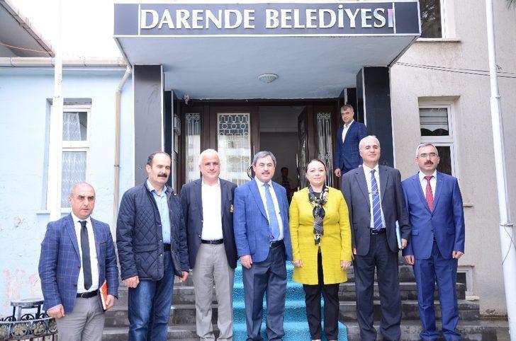 Rektör Karabulut, Darende'yi ziyaret etti